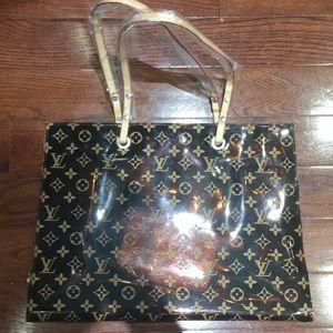Louis Vuitton brand new beach bag with porch